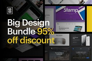 95% OFF - Big Design Bundle