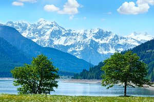 Lake Reschensee (Italy)