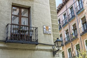 Amnesty street. Madrid