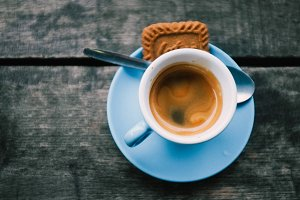 Espresso and Biscuit