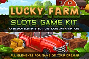 Lucky Farm Slots Game KIT