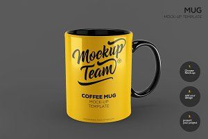Mug Mock up Template