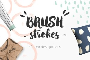 Brushstrokes Pattern Collection