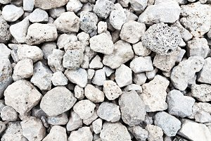 Background of gray gravel