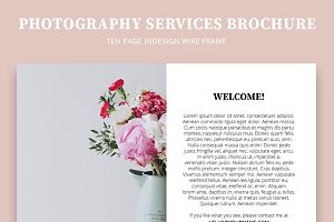 Photography Services Brochure