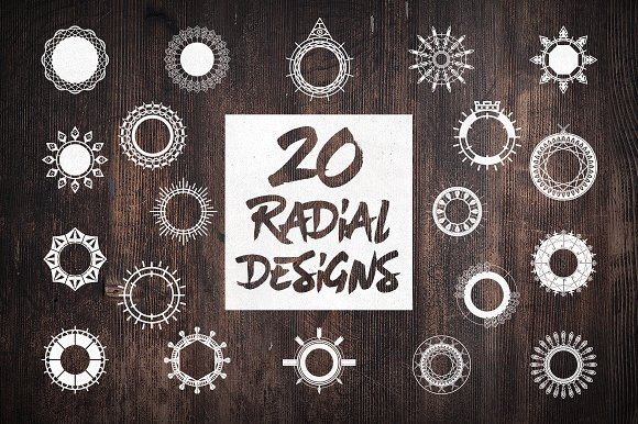 Radial Design Vectors
