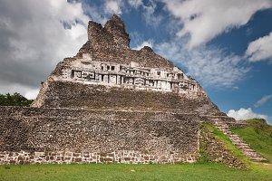 Xunantunich Temple Pyramid Bellize