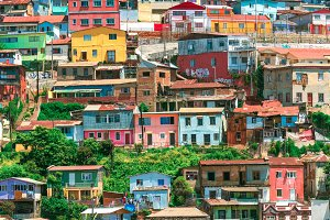 Colorful Houses of Valparaiso