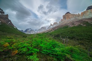 Valle Frances in Torres del Paine.