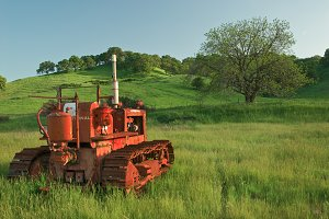 Rural scenen in California