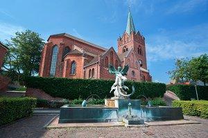 Slagelse in Demark, Scandinavia