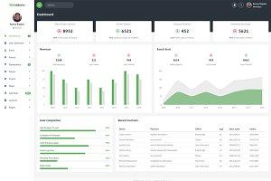 WebAdmin - Admin Dashboard