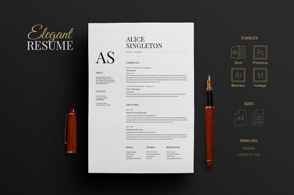 elegant resume resumes
