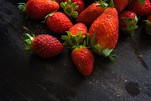 Organic strawberries