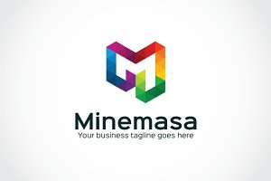Minemasa Logo Template