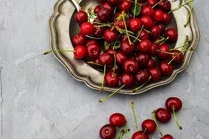 Organic cherries