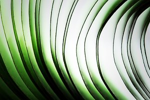 Abstract macro paper waves