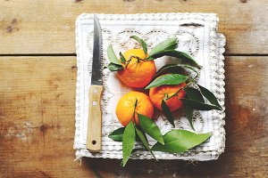 tangerines breakfast