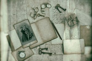 Vintage Style Paper Background