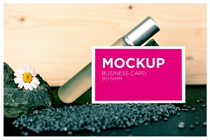 Beauty Business Card Mockup