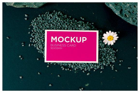 Beauty business card mockup product mockups creative market colourmoves