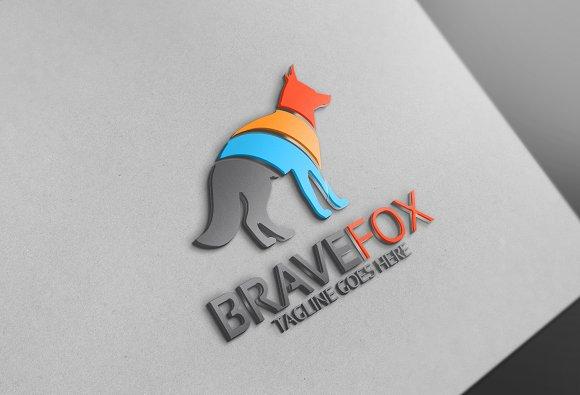 Brave Fox Logo