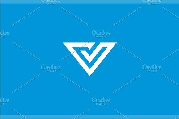 Ventura Letter V Logo