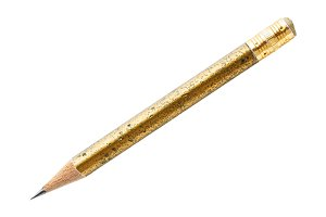 Wood pencil isolated