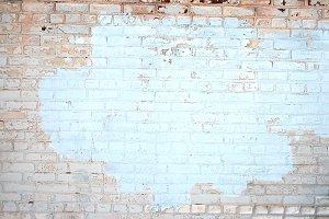 Light Blue and Peach Bricks