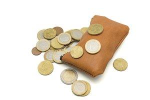 purse full of money