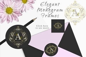 Monograms Logo Stationery & Weddings