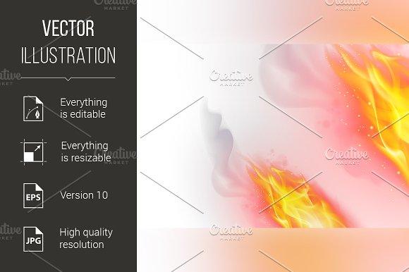 Fire Flames Effect