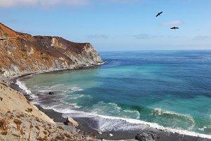 coast of Pacific ocean