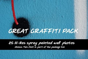 Great Graffiti Photo Pack