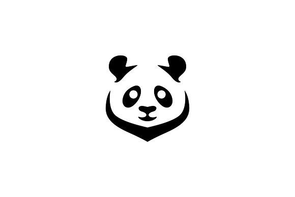 panda logo template logo templates creative market