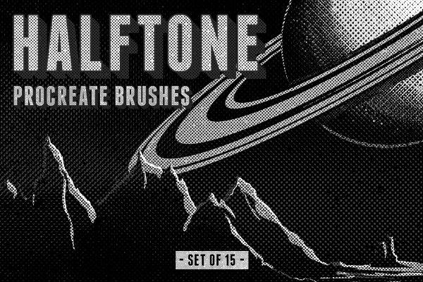 Halftone Procreate Brushes