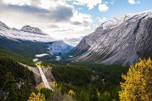 Canadian Rockies beautiful landscape