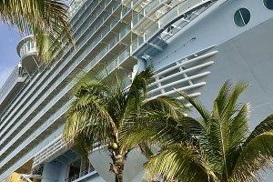 Cruise Ship Tropical Destination