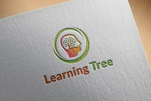 Learning Tree Logo Designs Template