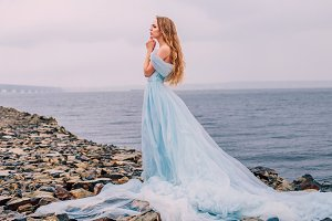 Princess on the shore