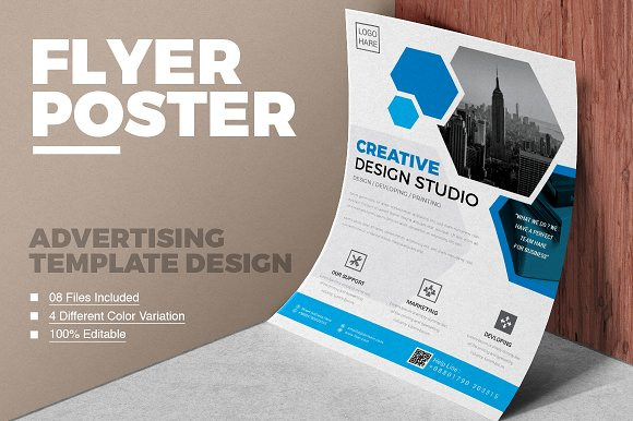 corporate business flyer vol 01 flyer templates creative market