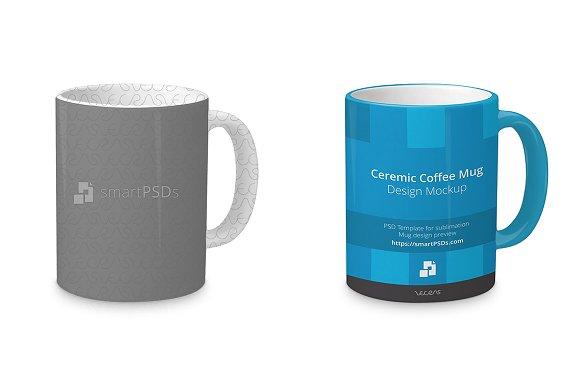 Jumbo Mug Mockup Preview Design