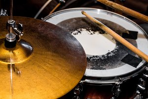 drum hi-hat, musical instrument, drumming