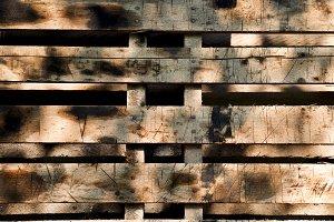 Old panel wood background