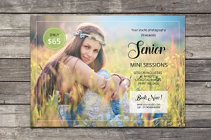 Senior Mini Session Template-V576