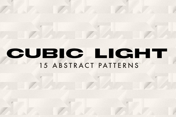 Cubic Light Abstract Patterns