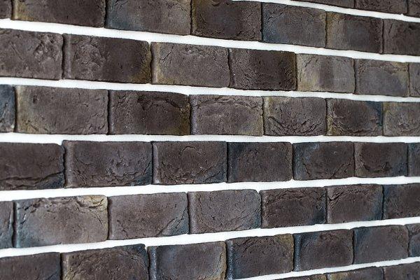 light gray brick wall