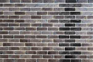 dark brown brick wall