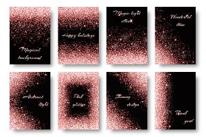 Pink shiny backgrounds