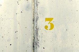 Number Three Yellow